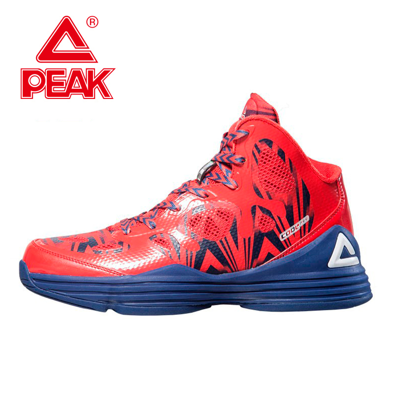 PEAK Basketball Shoes For Lovers Newest 2016 Sneakers Men And Women Boots Tech Athletic Training Ankle Boots EUR 40-47 peak sport hurricane iii men basketball shoes breathable comfortable sneaker foothold cushion 3 tech athletic training boots