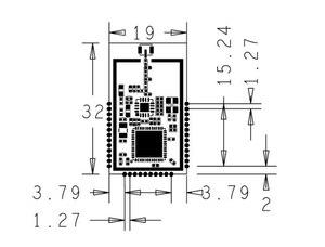 Image 3 - CC2538 + CC2592 module Communication distance Support zigbee/6lowpan