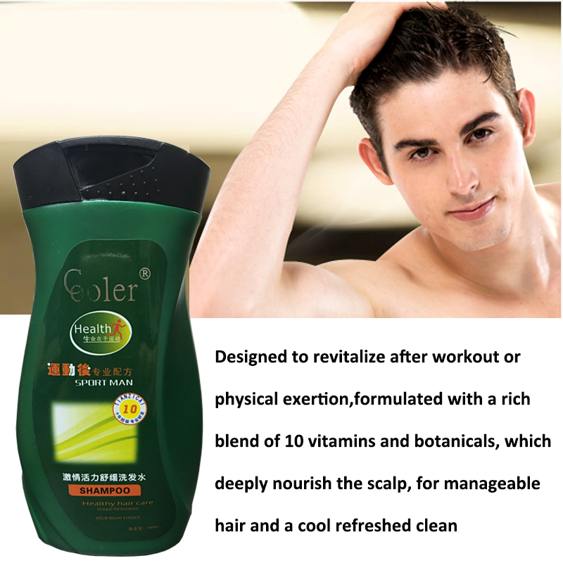 Hair Shampoo Deep Cleaning Nourishing Oil-control Hair & Scalp - Penjagaan rambut dan penggayaan - Foto 2