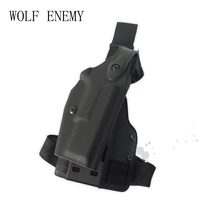Tactical Hunting Pistol Leg Holster Glock 17 19 22 23 31 32 Military Airsoft Gun Holster Glock Thigh Holsters Right Hand Users