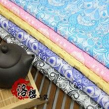 Brocade Jacquard silk Cloth Costume Chinese clothing Dress kimono Clothing fabrics Pipa flower