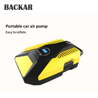 BACKAR Universal Car Air Pump Tire Inflator Stickers For Toyota Coralla CHR Fiat 500 Punto Renault megane duster 2 3 Accessories