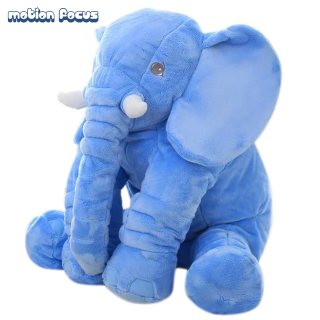 Baby Sleep Pillow Kids Cushion Long Nose Elephant Doll Plush Toys Comfortable Seat Cushion Soft Stuffed Children's Gift 60cm