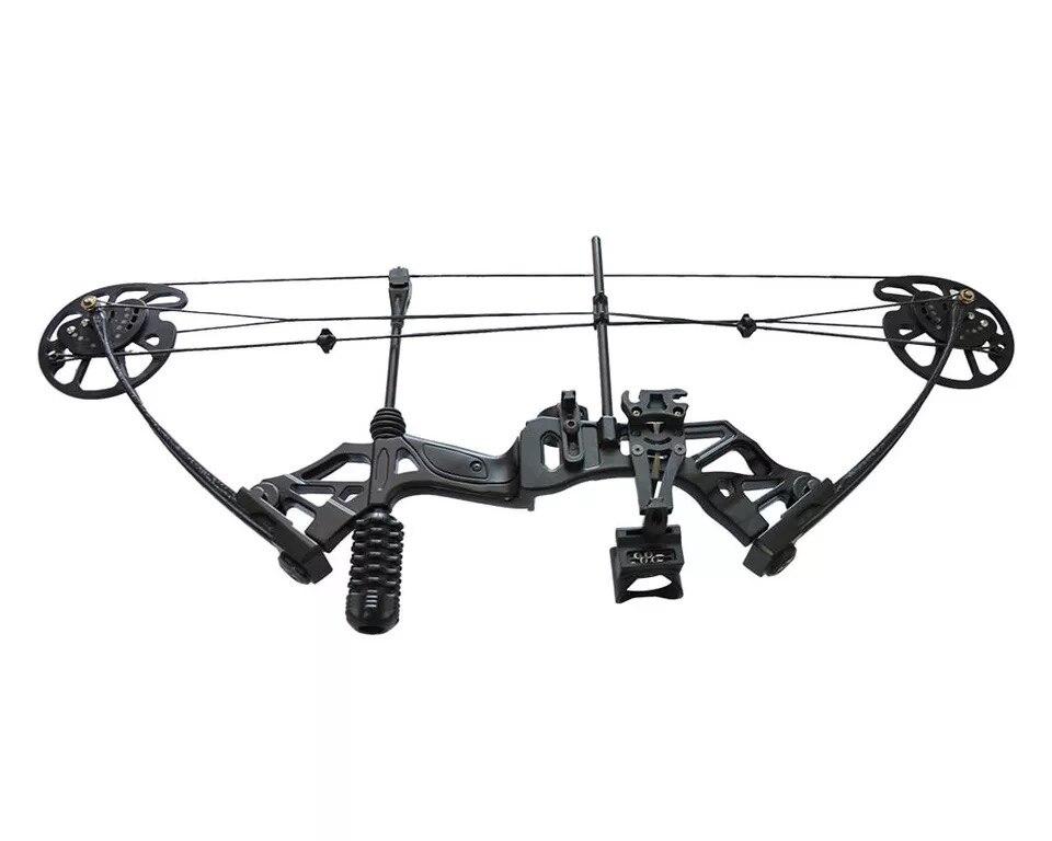 Ensembles d'arc et de flèche à poulie composée 30-70 lbs réglable chasse à l'arc Sports de plein air chasse tir - 6