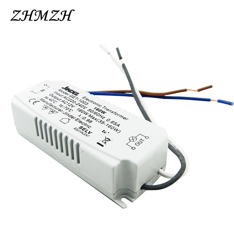 JINDELI AC220V į AC12V elektroninis transformatorius 60W 105W 120W - Apšvietimo priedai - Nuotrauka 3