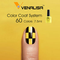 #61508 Venalisa 2017 Hot Sale 7.5 ML Soak Off UV Gel Nail Gel Polish Cosmetics Nail Art Manicure Nails Gel Polish Nail Varnish