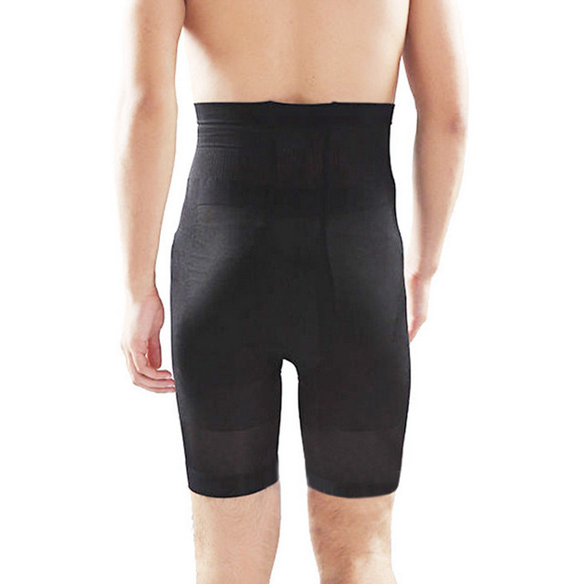 Men Slimming Thigh Body Shaper High Waist Control Panties Hold Belly Butt Lifter Tummy Trimmer Shapers Panties