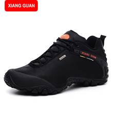 XIANG GUANG Men Boots Fashion 2017 Unisex Brand Platform Motorcycle Winter Ankle Boots Men Safety Martin Shoes 81283