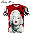 Teenager Boy Tops 3D Printed Jokes Big Boys T-shirts Clown Marilyn Monroe Einstein Pattern Funny Tees Creative Clothes tyh-50592