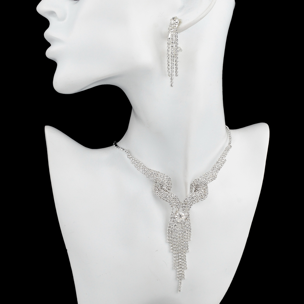 TOUCHEART Wedding Jewellery Set Crystal Bridal Jewelry Sets For