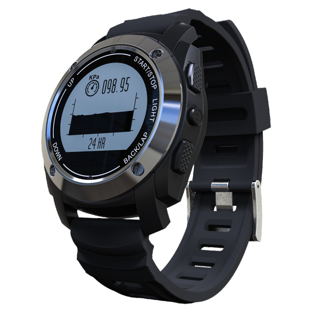 New Bluetooth Wristband S928 GPS Sports Smart Watch IP66 Life Waterproof with Heart Rate Monitor Pressure For Android iOS Phones s958 gps smart watch heart rate monitor sports waterproof sim card communication bluetooth 4 0 smartwatch for android ios phone