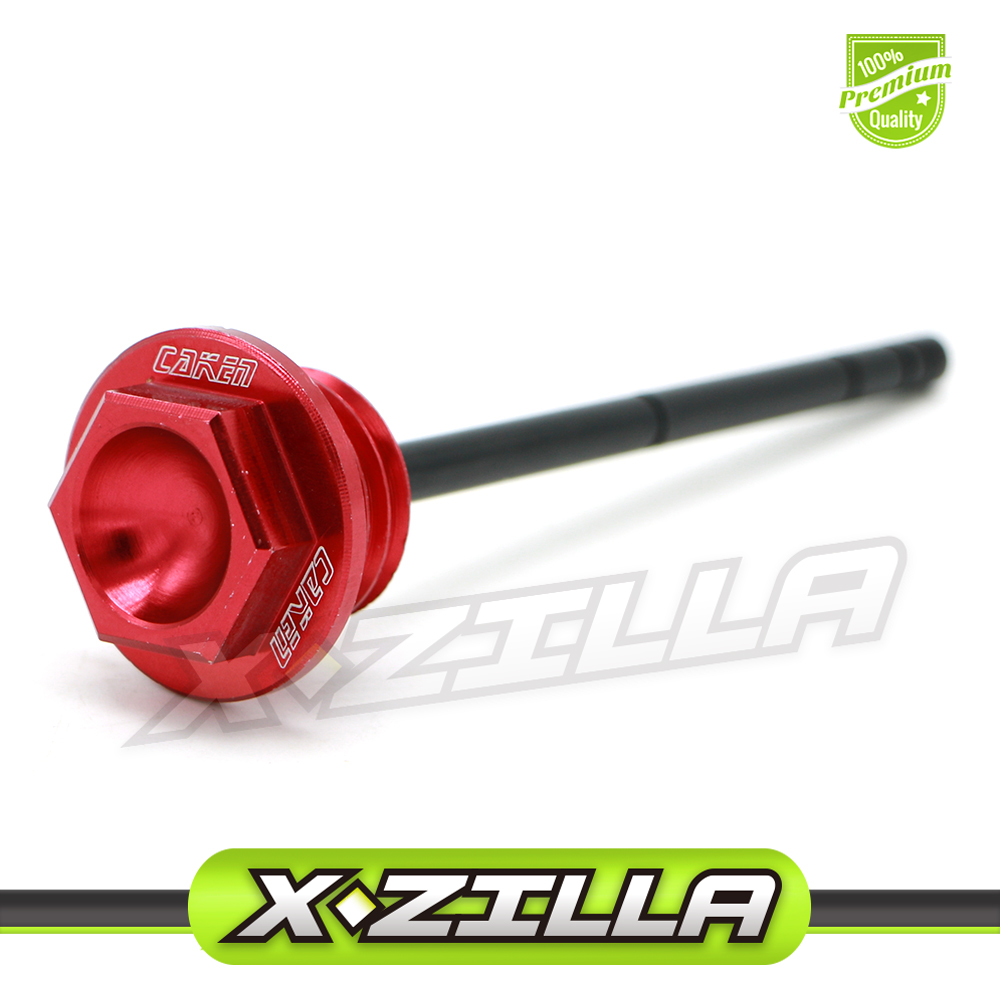CNC Engine Machined Oil Dipstick Filler Plugs For Honda CRF250R CRF250X CRF450R Dirt Bike Off Road Motorcycle Motocross Parts