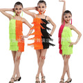 Дети Взрослых Кисти vestidos latino Танцевальная Одежда костюмы платье Костюмы Девушки Латинский Танец Платье Бальные Сальса танцевальная одежда платье