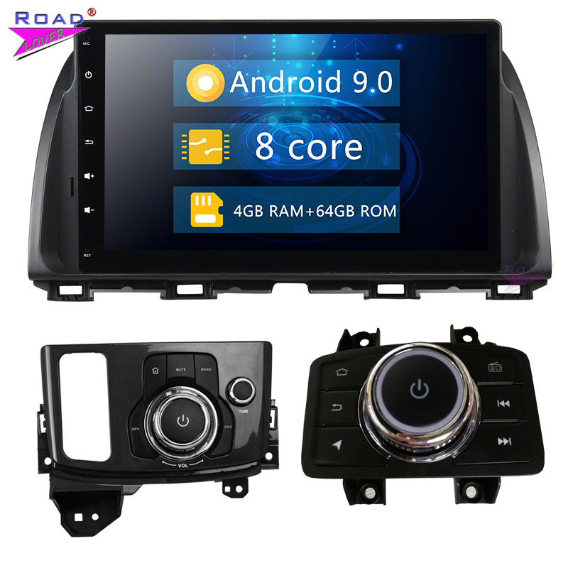 2 Din 10.1'' Android 9.0 Car Radio 4G RAM 64G ROM For Mazda CX 5 CX5 Atenza Stereo GPS Navigation Autoradio Car Head Unit