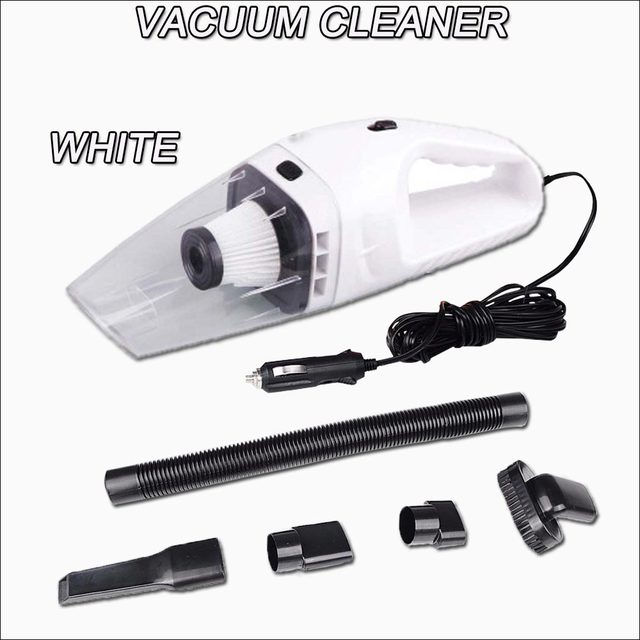 Car Vacuum Cleaner Portable 5M 120W 12V Handheld Mini Super Suction Wet And Dry Dual Use Vaccum Cleaner For Car Free Shipping