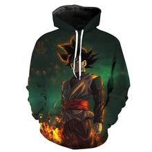 Dragon Ball Z Goku Hoodie Pullover 3D Sweatshirt