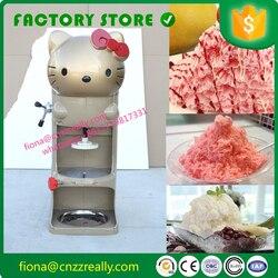25 lat doświadczenia wysokiej jakości kotek typ handlowy kruszarka do lodu kruszenia maszyna do produkcji na sprzedaż