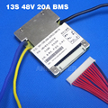Frete Grátis! 13 S 48 V BMS 20A li-ion bateria BMS Usado para 48 V 10Ah 12Ah 15Ah e bateria E moto-bateria 48 V 20Ah 1000 W BMS