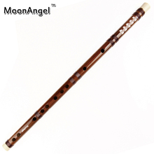 Handmade Chinese Bamboo Flute with Brown Lines New Design Musical Instruments Chinese Traditional Woodwind Instrument