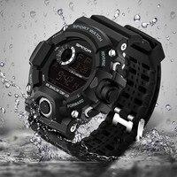 Children Kids Watch Fashion Sanda Brand Led Digital Watches Waterproof Casual Clock Boy Girl Students Wristwatch