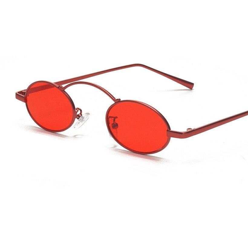 NYWOOH Retro Redonda Pequena Óculos De Sol Das Mulheres Do Vintage Da Marca  Shades Feminino Vermelho de Metal Óculos De Sol para Homens 2018 Designer  de ... 81ad8e034d