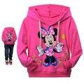Новая осень Hello Kitty девушки одежда с длинным рукавом дети толстовки детская одежда толстовки