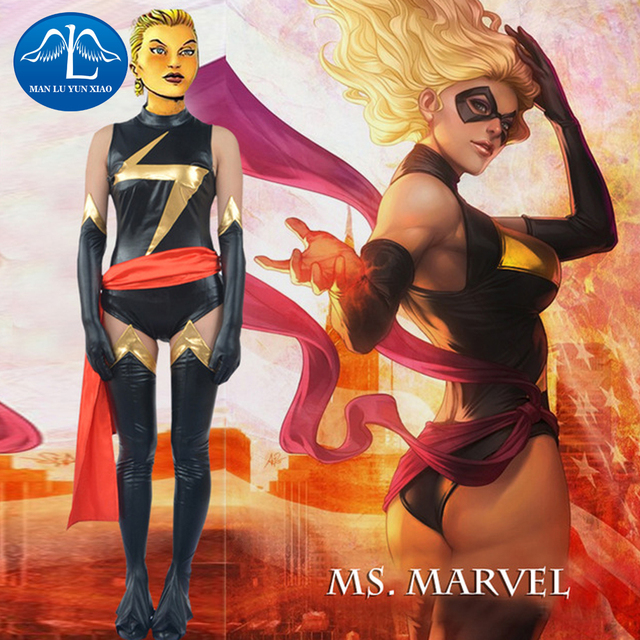 MANLUYUNXIAO Women s Captain Marvel Costume Ms  Marvel Carol Danvers     MANLUYUNXIAO Women s Captain Marvel Costume Ms  Marvel Carol Danvers  Cosplay Costume For Women Whole Set