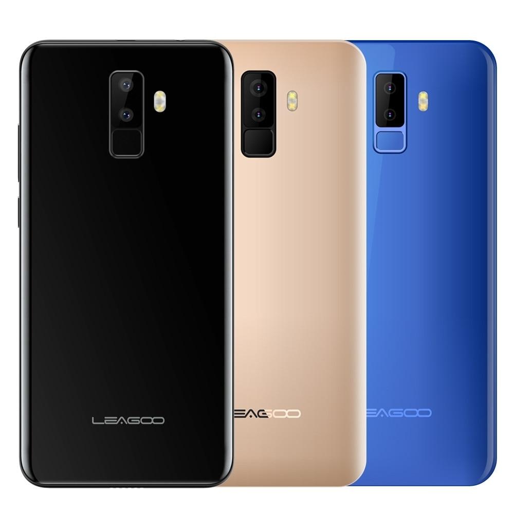 5,5 LEAGOO M9 3G Smartphone pantalla 18:9 cuatro Cam Android 7,0 2 GB + 16 GB 2850 Mah apr18