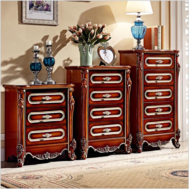 Armoires en bois de style américain personnalité créative antique les anciens meubles d'art rétro ensemble d'armoires sur mesure