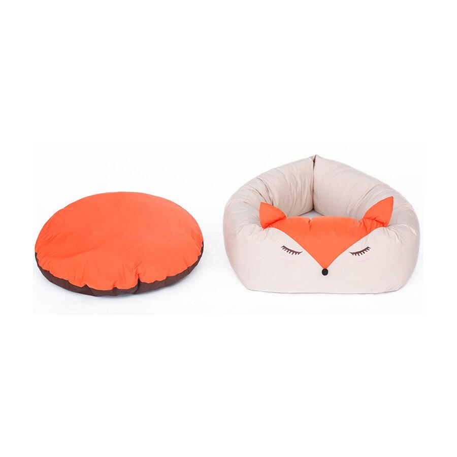 Général jeunes coussins chenil doux intérieur chiens lits nid canapés Para Perros couverture portable caniche matelas fournitures 60Z1154