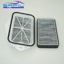 3 holes cabin filter for Vw Sagitar CC Passat Magotan Golf Touran audi Skoda Octavia external air filter #FT100