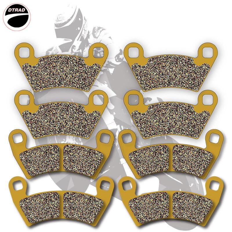 все цены на Moto Brake Pads Front+Rear For POLARIS ATV 400 Ranger 10-11 500 08-12 700 08-09 800 10-13 900 11-13 Ranger EV (Electric) 10-11 онлайн
