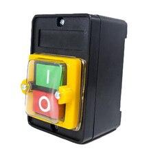 Motor de taladro duradero, accesorios impermeables, interruptor Industrial, botón pulsador para cortar encendido/apagado eléctrico para KAO 5M