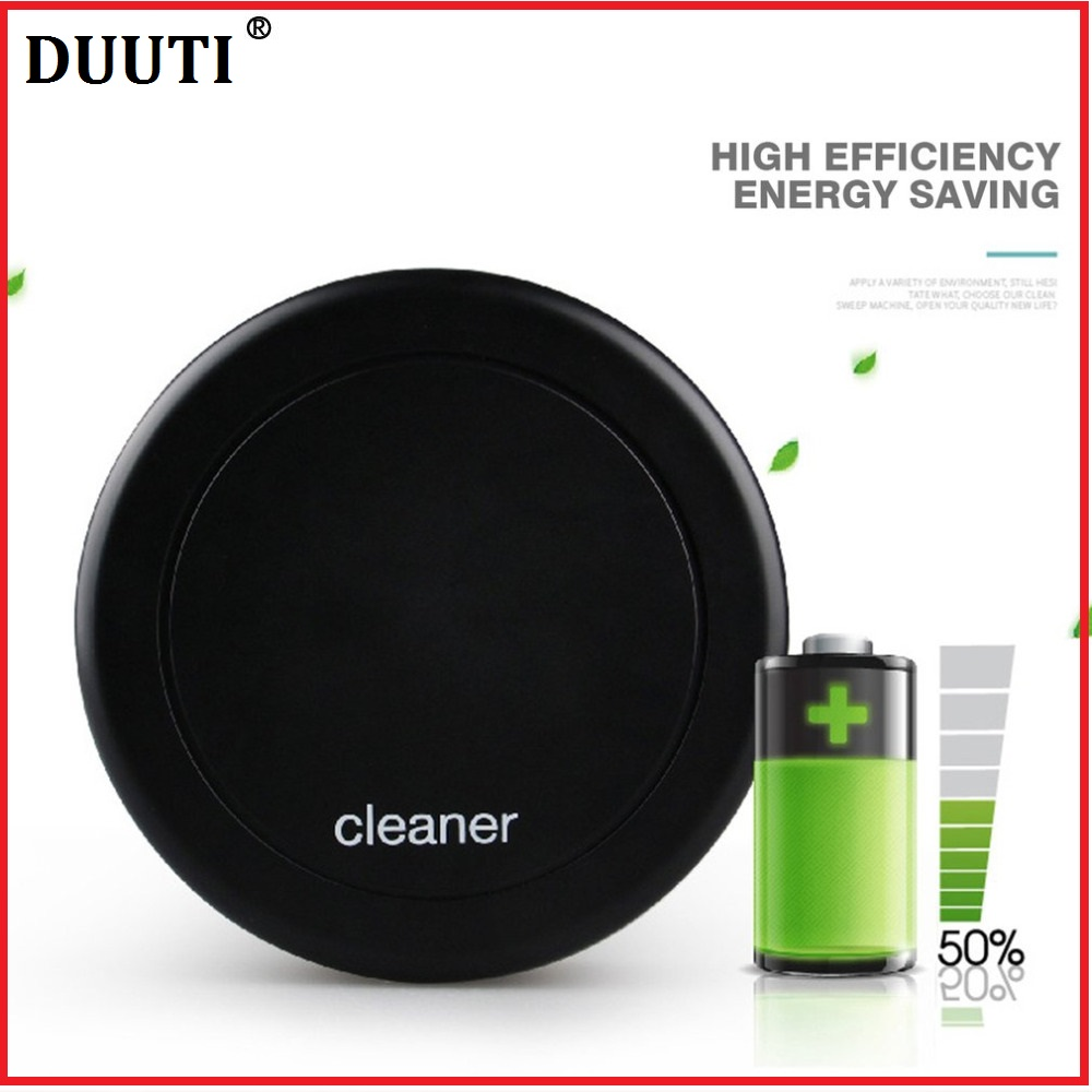 DUUTI Steering Smart Cleaning Robot Noiseless Auto Floor Dust Dirt Vacuum Cleaner 360-degree Rotation Sweeping Machine vacuum cleaner for sofa