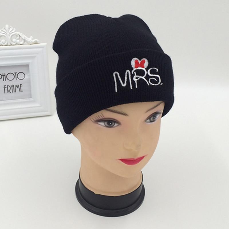 MRS MR Beanies Knit Winter Hats