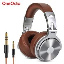 OneodioหูฟังProfessionalชุดหูฟังพร้อมไมโครโฟนสายสเตอริโอหูฟังDJสำหรับบันทึกฉนวนกันความร้อน