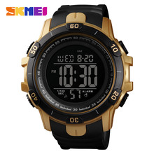 Top Brand SKMEI Sport Digital Watch Stopwatch Chronograph Wristwatch Fashion Male Waterproof Bracelet Men's Watches Alarm Clock цена в Москве и Питере