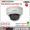 Hik Dome Camera DS 2CD2142FWD IS 4MP POE IP Camera Day Night Infrared 3D DNR 3