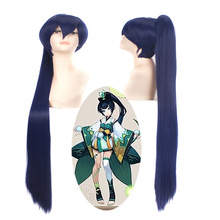 New arrival onmyoji hair accessories 355g 130cm synthetic hair jewelry for Hotaru grasscos cosplay wigs