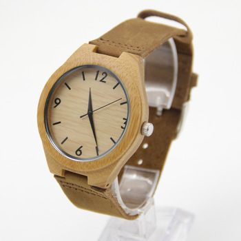 Bamboo Watches For Men and Women Gift Brand Wood Watch Fashion And Famous Lover With Box