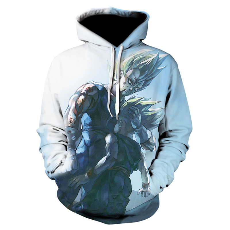 Galaxy 3D Sweatshirt Men Hooded Anime Dragon Ball Z Goku Fashion Mens Hoodies Sweat Homme Sportswear Hip Hop Male Sweatshirt