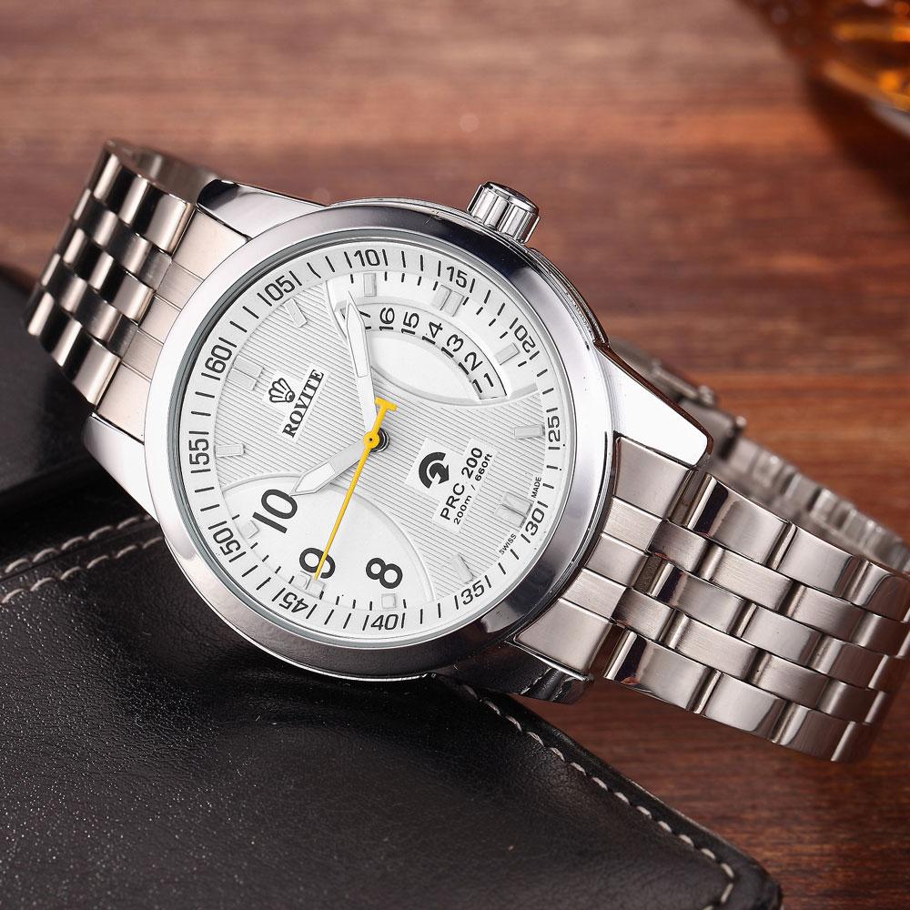 Zegarek męski Zegarki mechaniczne Zapięcie ze stali nierdzewnej - Męskie zegarki - Zdjęcie 5