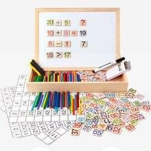 Sale Montessori Teaching Materials Aids Math Toys Mathematics Calculation Mongolia 1-100 Digital Puzzles WD40-3 (2)