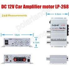 Home-Amplifier Auto Car 12V 20WX2 LP268 Vehicle Hot-Sale 2ch-Output