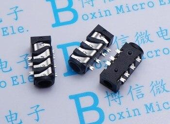 Free shipping 500PCS PJ393 3.5 jack 3.5 headphone jack PJ382 7 feet 7P four