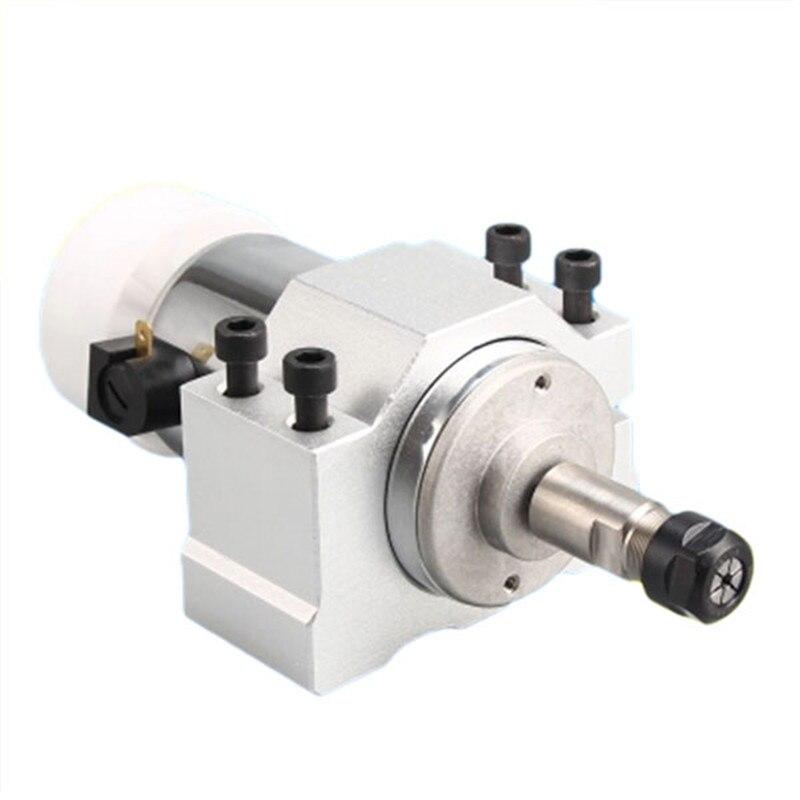 DANIU 1 pc 300 W haute vitesse refroidi par Air motorisé broche moteur Machine accessoires pour la gravure de carte Pcb