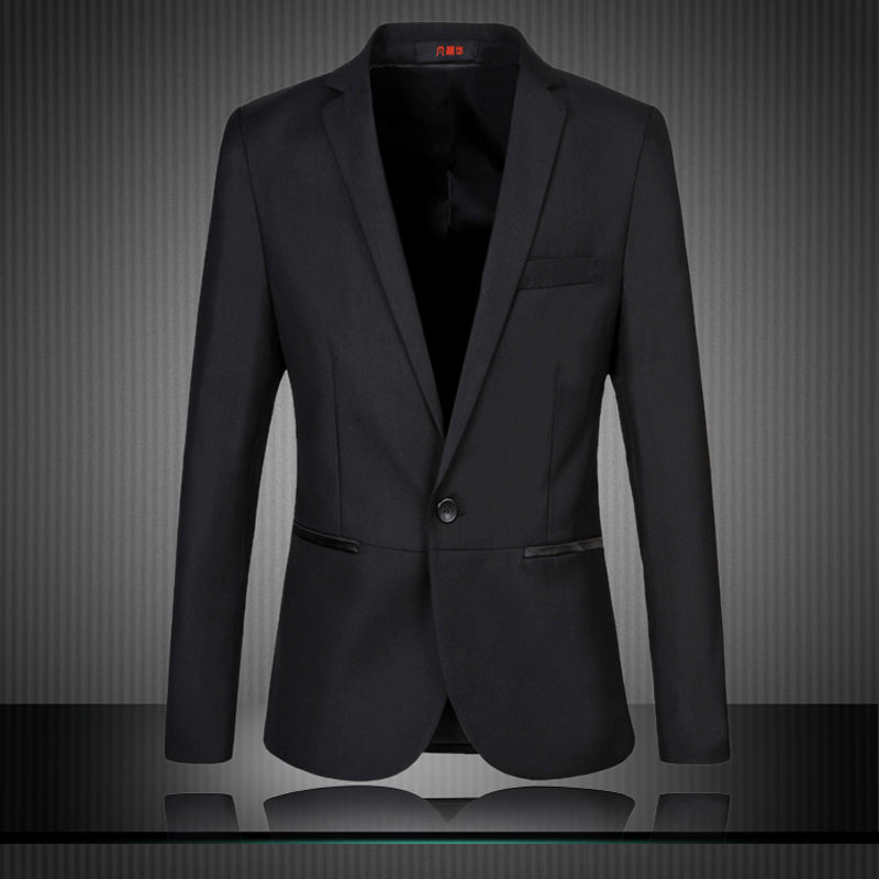 Mens Black Suit Jacket Dress Yy