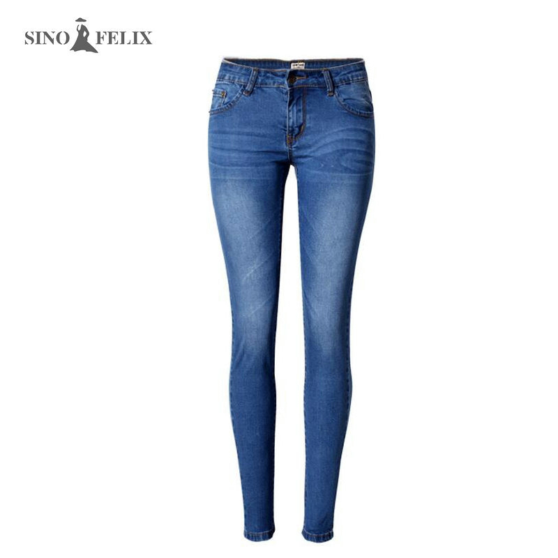 spring New Jeans Hot sales Mid Waist Slim looking Style Stretchy Ripped Jeans for Women Denim Ankle length Pants TPS6627 large size jeans for women spring new washing beading denim pants 2017 ripped jeans high waist slim ankle length pantalon femme