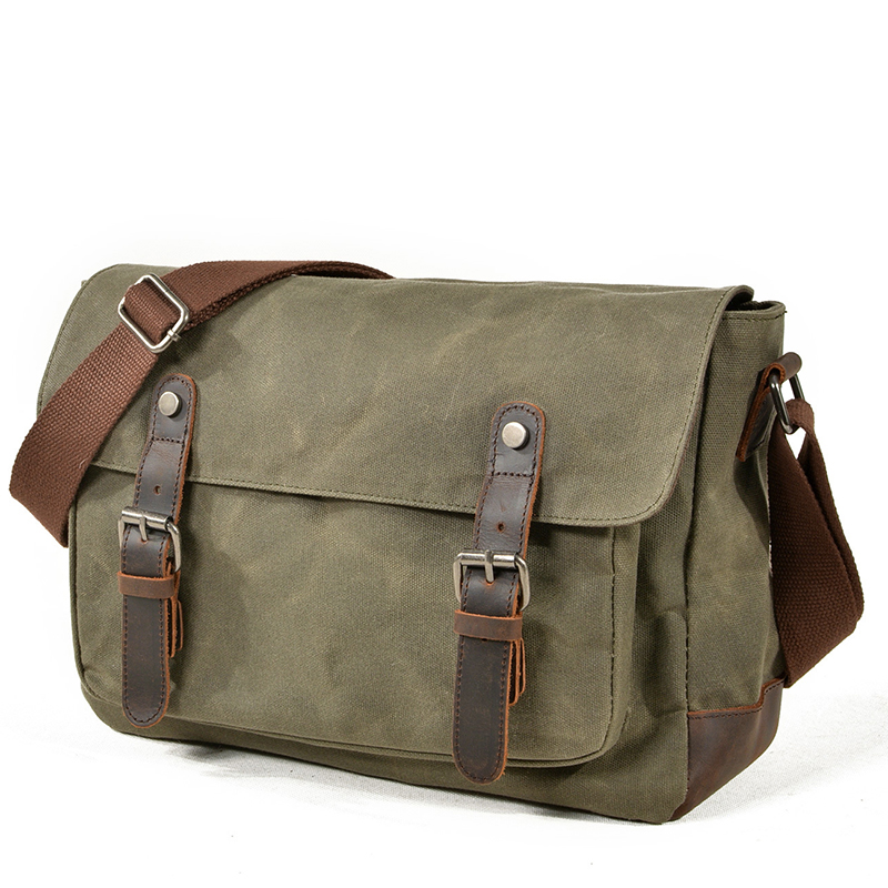 AUGUR 2018 New Shoulder Bags For Men Vintage Canvas Waterproof School Messenger Bag High Quality Solid Man Crossbody Bag Tassen цена 2017