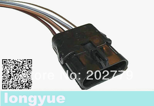 longyue 2pcs Distributor Connector Wiring Harness Camaro Firebird